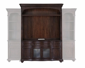 Console and Hutch in Warm Chestnut Kessington by Magnussen MG-E2670CH