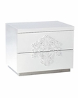 Contemporary 2-Drawer Nightstand 44B202NS
