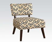 Contemporary Accent Chair in Fabric by Acme Furniture AC59073