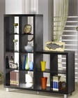 Contemporary Asymmetrical Cube Bookcase CO800824