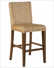 Contemporary Bar Stool Seagrass by Howard Miller HM-697-028