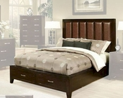 Contemporary Bed Solitude by Ayca AY-1702Bed
