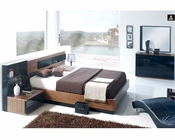 Contemporary Bedroom Set Made in Spain 33B181