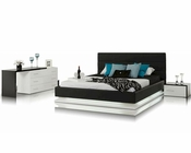 Contemporary Bedroom Set w/ Platform Bed with Lights 44B180SET
