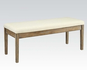 Contemporary Bench Claudia by Acme Furniture AC71718