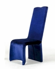 Contemporary Blue Fabric Dining Chair 44D8341 (Set of 2)