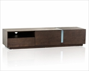 Contemporary Brown Oak TV Stand 44ENT027