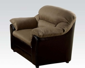 Contemporary Chair Connell Saddle by Acme AC15142