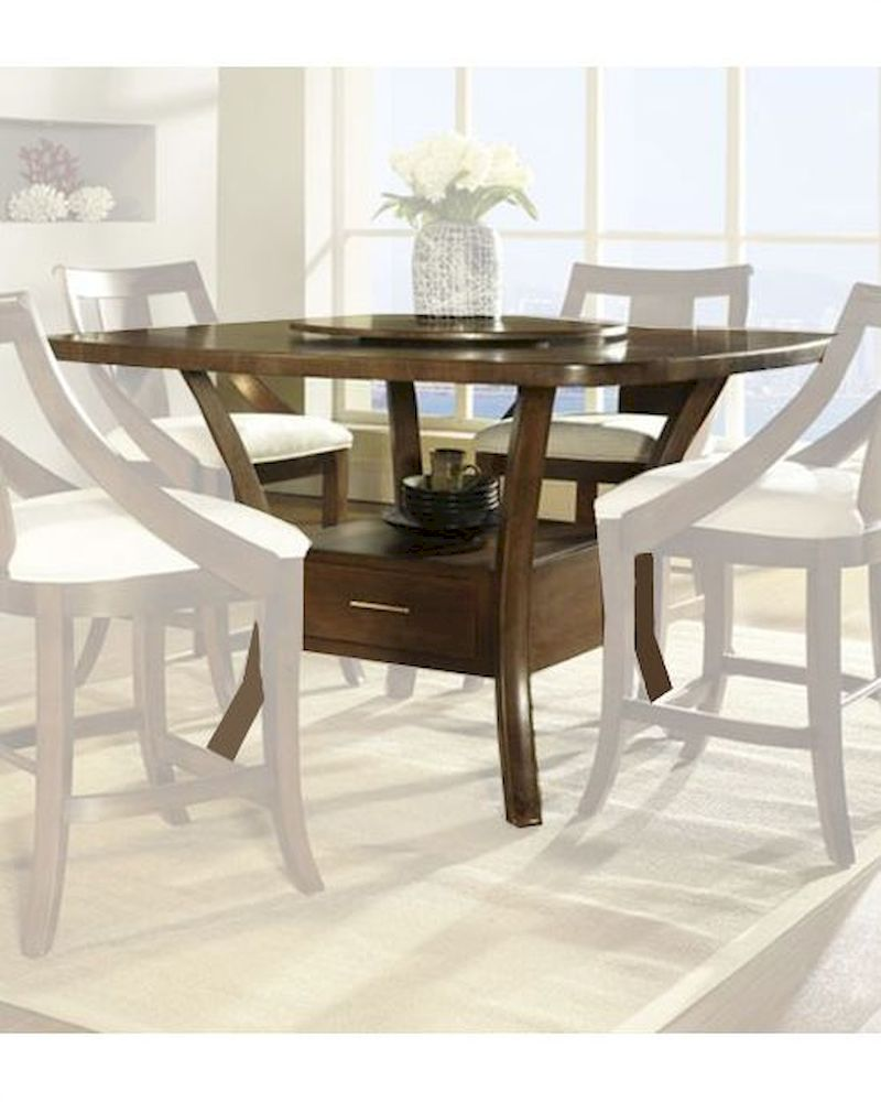 Contemporary Counter Height Table Gatsby By Somerton So 422 68