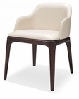 Contemporary Cream Eco-Leather Dining Chair 44D537Y