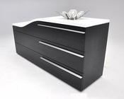 Contemporary Curved Dresser in Modern Style 44B143DR