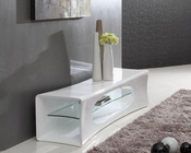 Contemporary Curvy Design TV Stand 44ENT1170