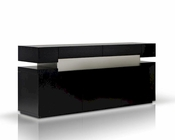 Contemporary Dark Oak Buffet 44D616BUF