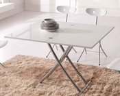 Contemporary Dinette Table w/ AdjusTable Base 33D432