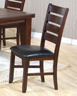 Contemporary Dining Dining Chair in Dark Oak ( Set of 2 ) MO-2842CH