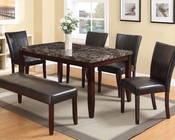 Contemporary Dining Set Idris by Acme AC70520SET
