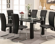 Contemporary Dining Set Riggan by Acme Furniture AC60200A-SET