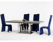 Contemporary Dining Set w/ Elm Dining Table 44D8998-SET