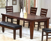 Contemporary Dining Table in Dark Oak MO-2842TB