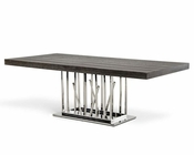 Contemporary Elm Dining Table 44D8998-22