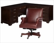 Contemporary Executive Office Set by Hekman HE-79187-SET