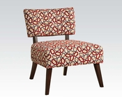 Contemporary Fabric Accent Chair by Acme Furniture AC59074