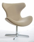 Contemporary Fabric Lounge Chair 44O87A-F