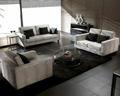Contemporary Fabric Sofa Set 44LE88B
