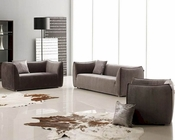 Contemporary Fabric Sofa Set 44LVIP208A