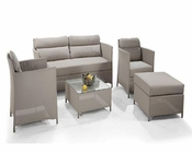 Contemporary Five-Piece Outdoor Sofa Set 44PH75