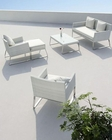 Contemporary Five-Piece Patio Lounge Set 44P115-SET