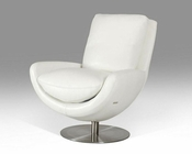 Contemporary Full Leather Lounge Chair 44LGT5
