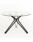 Contemporary Glass Round Dining Table 44D6105DT-1