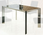 Contemporary Glass Top Dining Table OL-DT26