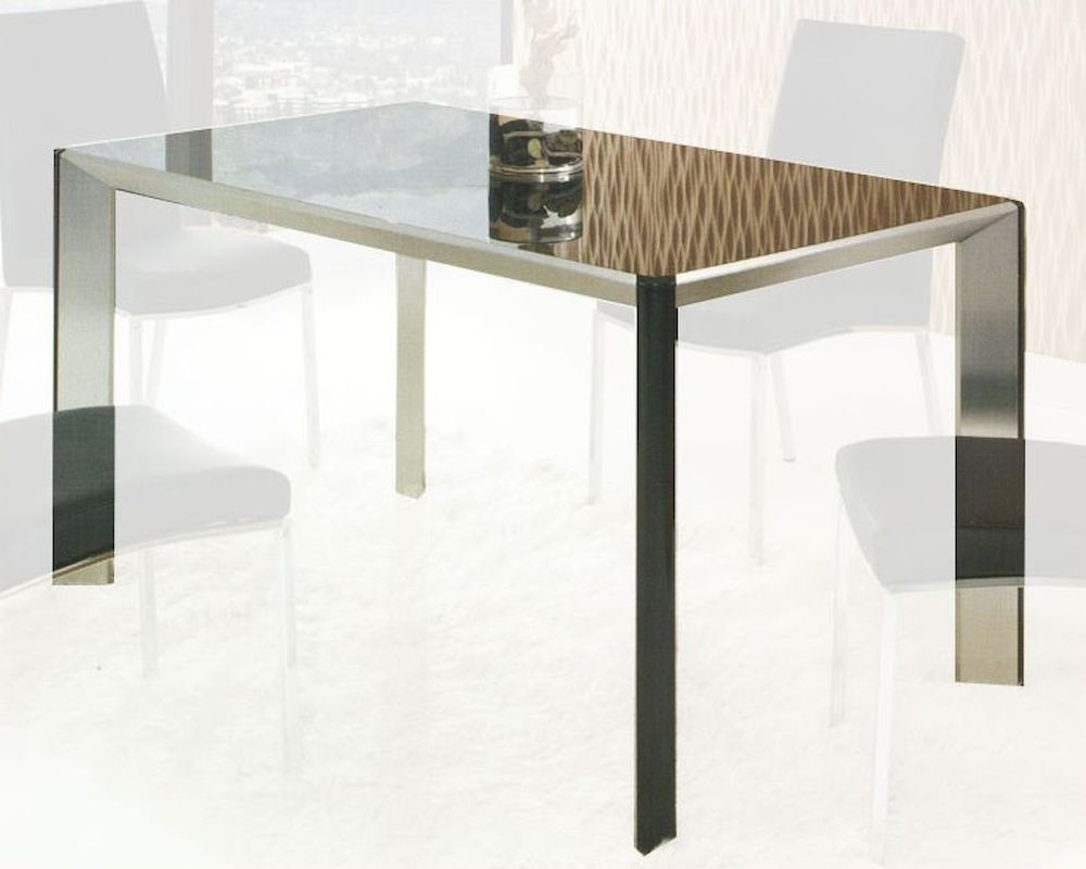 Contemporary Glass Top Dining Table Ol Dt26