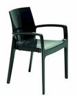 Contemporary Gloss Italian Dining Chair 44DCREAM-CH