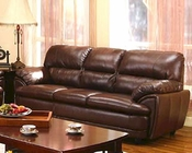 Contemporary Leather Sofa MO-AZNS