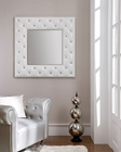 Contemporary Mirror in White 33C113