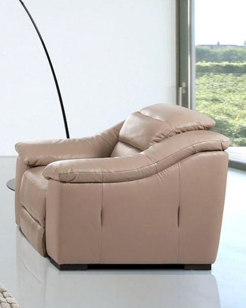 contemporary power reclining leather lounge chair 44lg1736