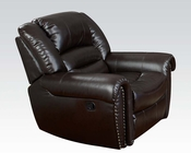 Contemporary Recliner Ralph by Acme Furniture AC50287