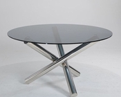 Contemporary Round Dining Table 44DET09