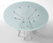 Contemporary Round Glass Table 44DAT124