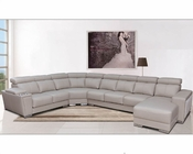 Contemporary Sectional Set with Sliding Seats ESF8312
