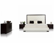 Contemporary Set w/ Tufted Bed 44B209SET