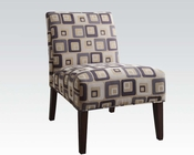 Contemporary Style Accent Chair AC59153