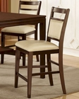 Contemporary Style Counter High Bar Stool MCFAD145-SB (Set of 2)