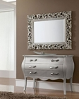 Contemporary Style Dresser and Mirror Set 33C91
