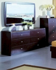 Contemporary Style Dresser w/ Mirror 44B224DM