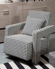Contemporary Style Lounge Chair 44LG152