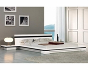 Contemporary Style Platform Bed 44B212BD